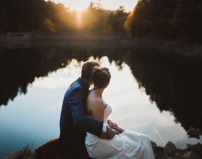 Mariage en Alsace | Florence + Pierre | Day after aux bord du lac